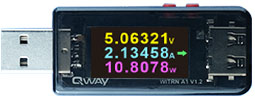 [QWAY-A1] USB Power Meter